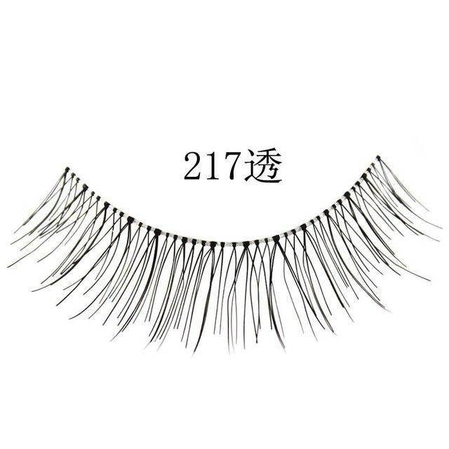 Free shipping,32box/lot ,high quality,(10pairs/box)synthetic eyelash(217A)