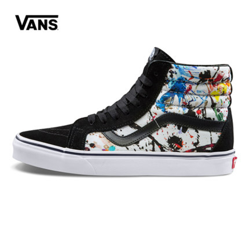 Original New Arrival Vans Men's & Women's Classic Sk8-Hi Skateboarding Shoes Sneakers Canvas Comfortable VN0A2XSBM0U Unisex