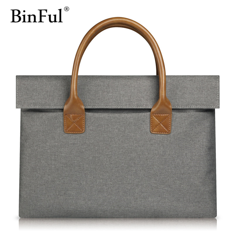 BinFul Hot Fashion New Universal Laptop Ultrabook Notebook Shoulder Bag Case 11 13 14 15.6 inch for Macbook HP Lenovo Women Men