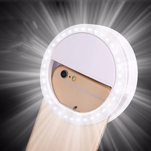 For all kind of phone and pad Portable Flash 36 Led Camera Enhancing Photography Selfie Ring Light for Smartphone