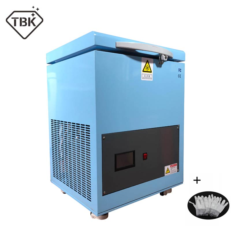 TBK Newest Professional Mass 180C LCD Touch Screen Freezing Separating Machine LCD Panel Frozen Separator Machine for edge