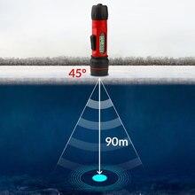 Erchang F12 Портативный Sonar рыболокатор цифровая ручка эхолот водостойкий Sonar сенсор м 0,8-90 м глубина Ice Рыбалка Fishfinder