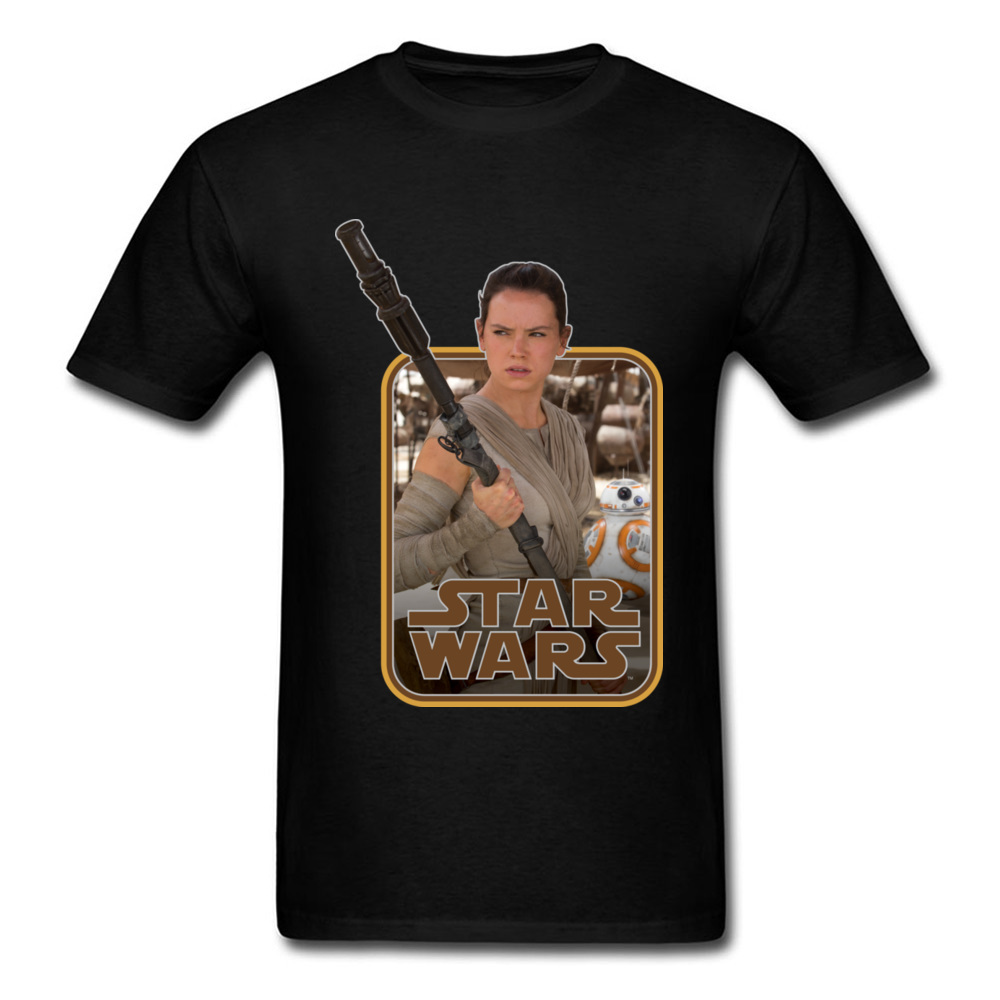 Sex Rey Rebel T-Shirt Pin Up Men's Fashionable Tshirt Star Wars 3D Movie Printing Leisure Loose Tees For Men New Listing image