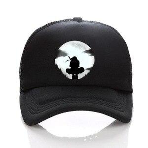 Японская аниме Наруто ниньцзя, черная шляпа, женская и мужская кепка, Кепка-ведро, аксессуар для костюма, подарок