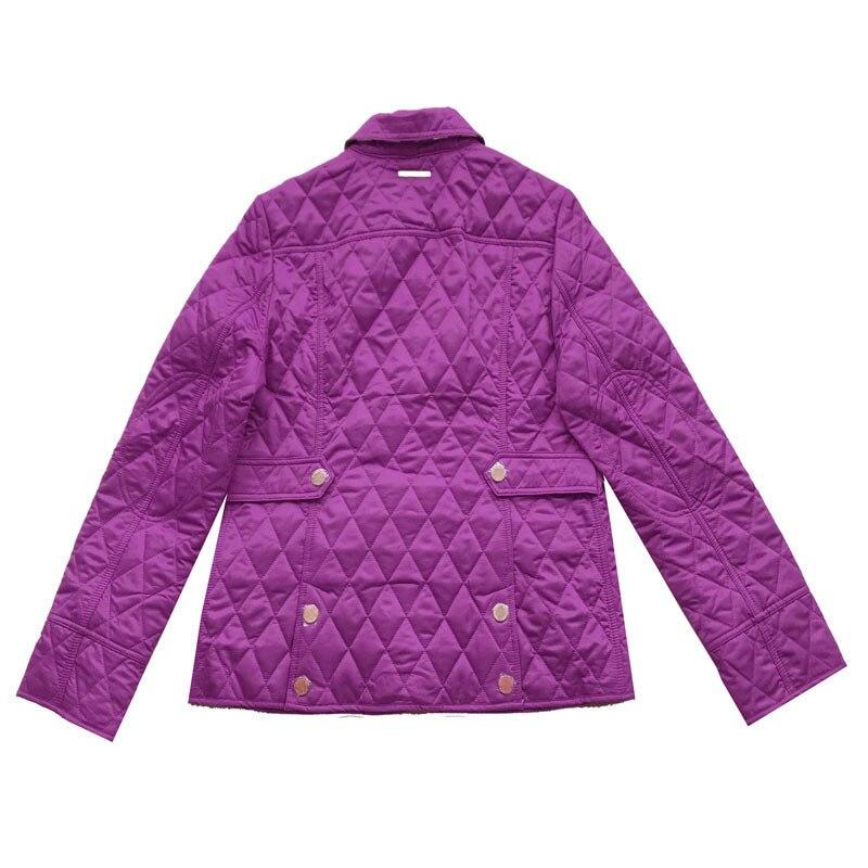 Veste purple Poches Survêtement Femininas Noir Losange Coton blue red Femmes Taille Hiver khaki La Black Rembourré Chaqueta Matelassé Plus Manteau ExfOCWTqCw