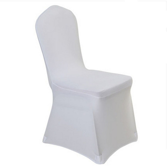 Party Banquet Hotel Dining Chair Cover Stretch Spandex Chair Cover
