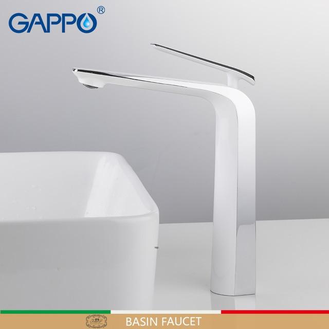 GAPPO havza musluk batarya musluklar banyo musluk pirinç güverte üstü su lavabo bataryası musluk banyo şelale musluk