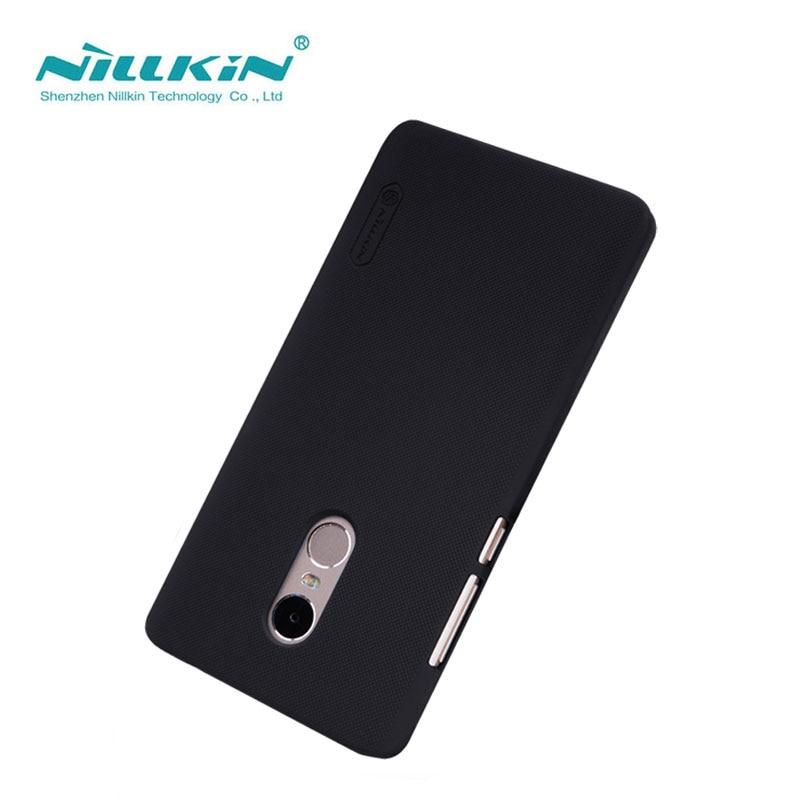 Xiaomi Redmi Note 4 Case Cover Nillkin Frosted Shield Case For Xiaomi Redmi Note 4 Pro Prime 5.5 inch With Film
