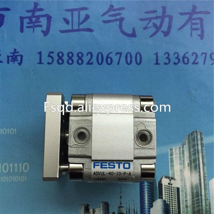 Outils pneumatiques de composant pneumatique de cylindre dair de cylindre de type mince de Festo de ADVUL-40-10-P-AOutils pneumatiques de composant pneumatique de cylindre dair de cylindre de type mince de Festo de ADVUL-40-10-P-A