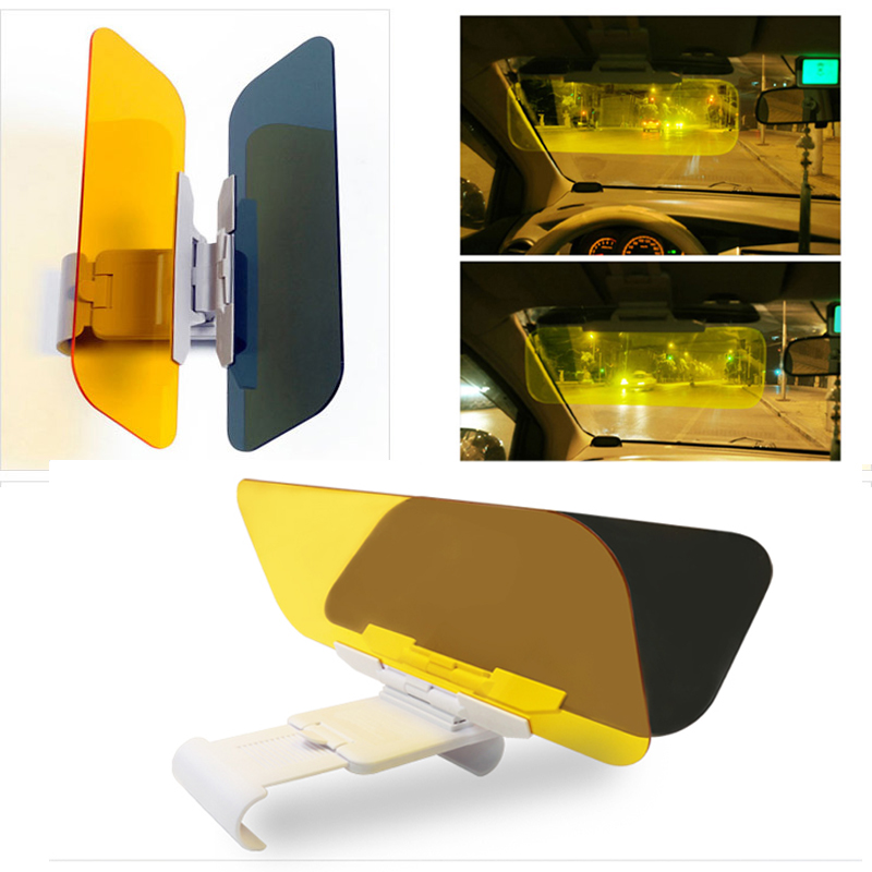 HANSBO 2In1 font b Car b font Sun Visor Goggles For Driver Day Night Anti dazzle