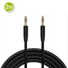 2/3/5m Male to Male 3.5mm Jack AUX Audio Stereo Headphone Extension Ca