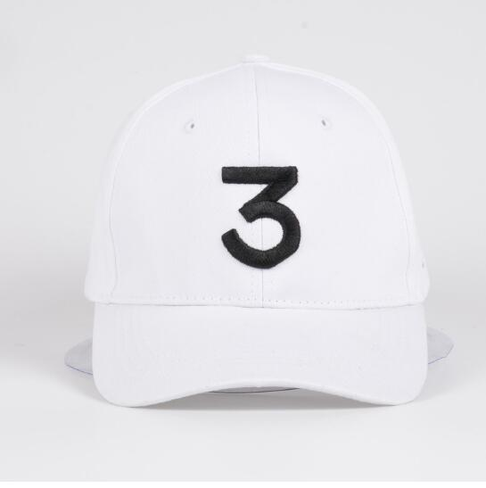 ... Adjustable Yeezy Snapback  detailed pictures 2fafc 17b25 Popular chance  the rapper 3 Hat Cap Black Letter Embroidery Baseball Caps 351e64a18ee5