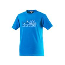 Oryginalna donic tenis stołowy T shirt D-Ovtcharov Wald Nell koszulki pamiątkowe męskie koszulki z koszulką do ping-ponga Jersey tanie tanio Unisex Pasuje do rozmiaru Weź swój normalny rozmiar 83806