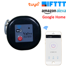 Tuya Amazon Alexa Google Assistant IFTTT Smart Wireless Control Газовый водяной клапан Smart Life