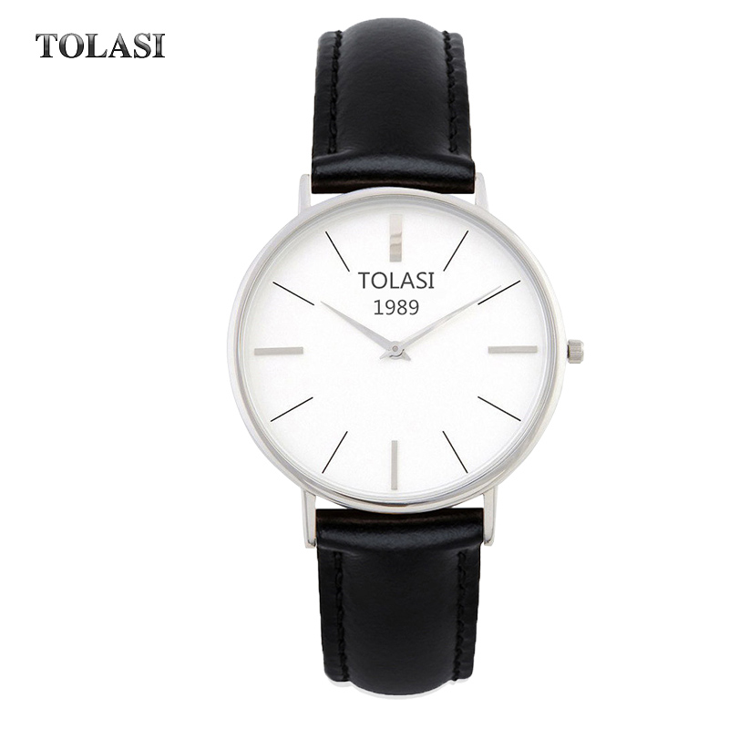 TOLASI Men Casual Sport Watch Women Fashion Dress Watches Male Business Quartz Wather waterproof Clock Ladies Relogio Masculino