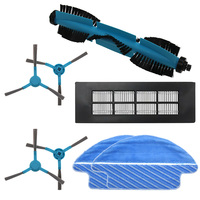Roller brush+side brush+ HEPA filter+mop for Conga 3090 robot vacuum cleaner parts replacement