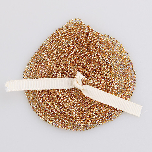 5m/lot 1.5mm Metal Ball Bead Chains 7Colors Ketting Kettingen Bulk  Bulk Iron Chains For Diy  Jewelry Accessories 5