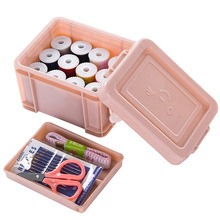 Hot fashion Sewing Tools Set Box 15 Sets Household Needle Package Storage Home tool needle bag New pattern QW030
