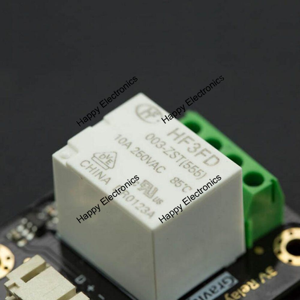 Dfrobot Gravity Series Digital Relay Module 2855v 10a Compatible Home Shield For Arduino V2 1 With Lattepanda Raspberry Pi Intel Joule Etc In Demo Board From Computer