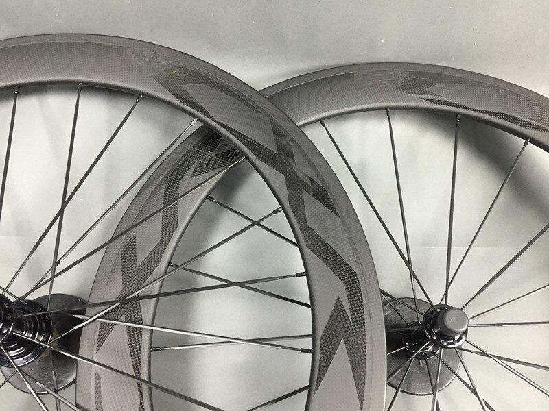 23mm 25mm width Carbon Clincher Road Bike Wheels 50mm Ultra Light Carbon Wheels bicycle wheels light carbon bike wheelset