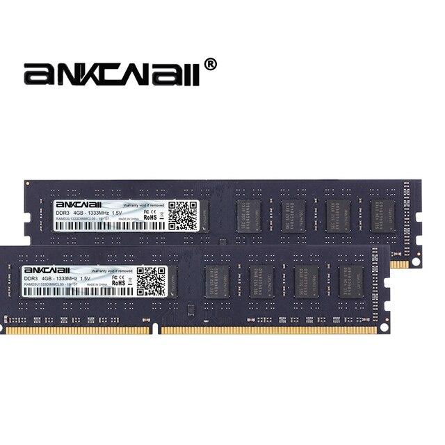 DDR3 RAM 8Gb (2pcs x 4GB) O 16GB(2pcs x 8GB) 1333MHz 1600MHz1866MHZ PC3 10600/12800 Per Intel Desktop di Memoria DIMM 1.5V 240Pin