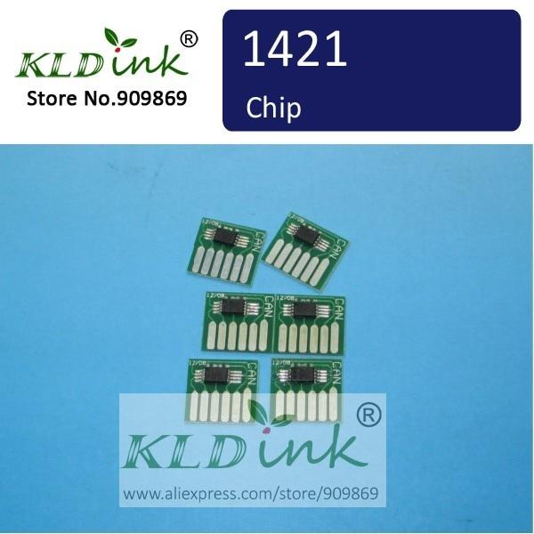 X 1 pièces PHOTO MAGENTA BCI-1421PM, BCI1421PM cartouche puce
