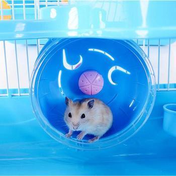 Adeeing 3-storey Pet Hamster Cage Luxury House Portable Mice Home Habitat Decoration 1