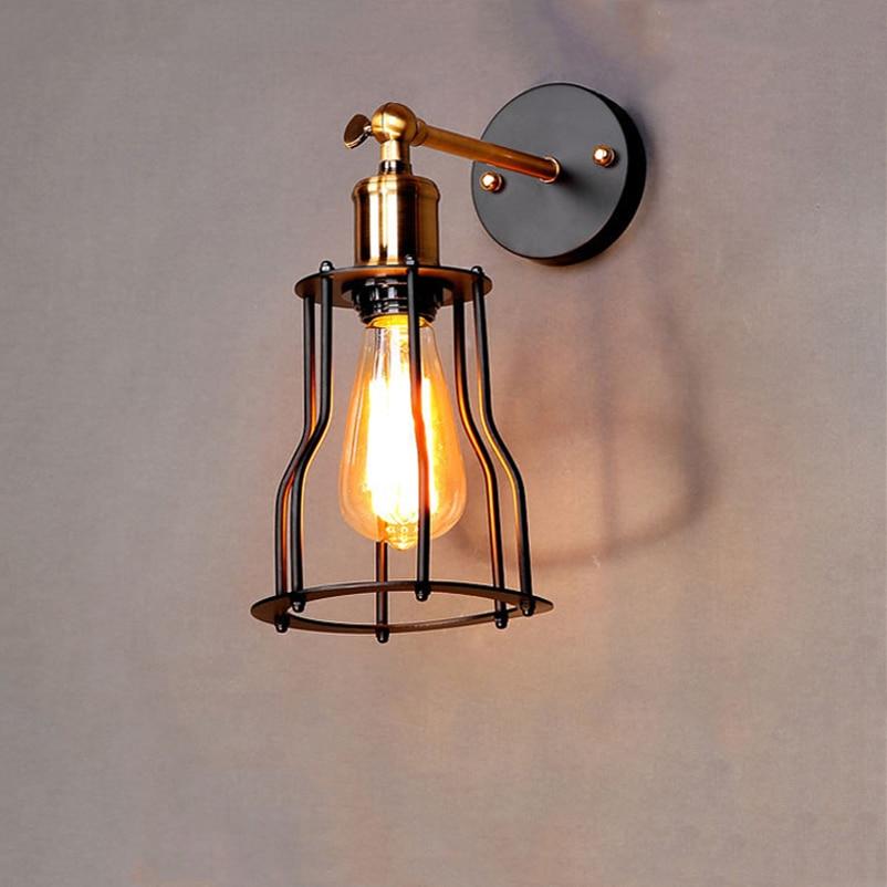 Retro Loft Light Pendant Suspension Light Lifting Pulley Wall Lamp Restaurant Aisle Pub Cafe Light Bra Sconce Lantern Fixture Easy And Simple To Handle Lights & Lighting