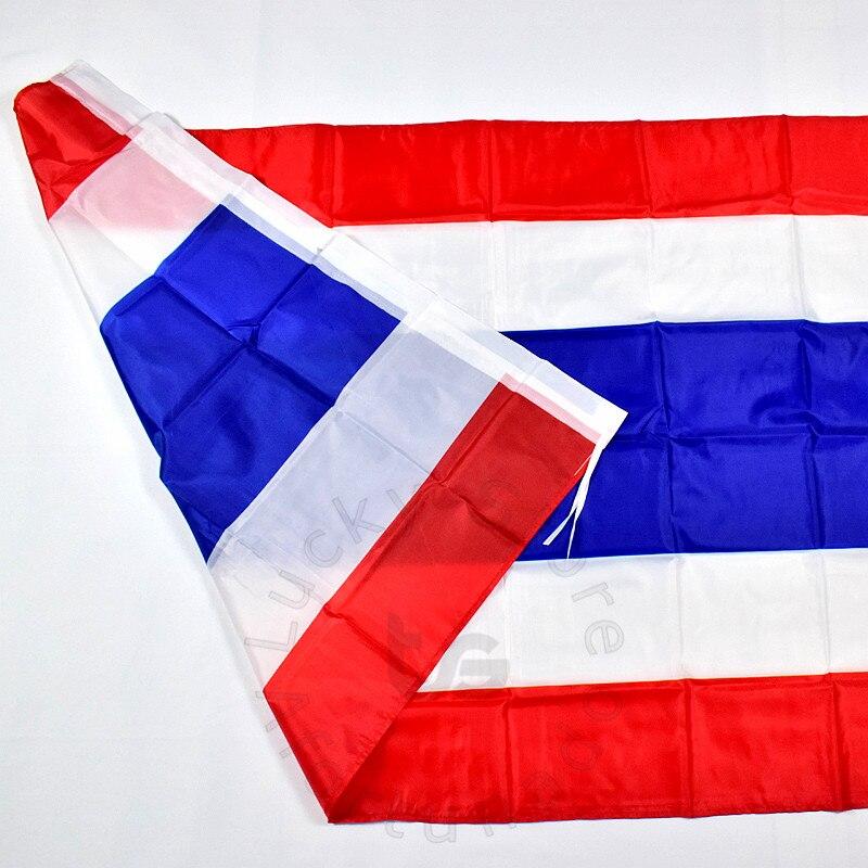 Թաիլանդ 90 * 150 սմ դրոշ Բաններ անվճար - Տնային դեկոր - Լուսանկար 6