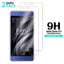 2 Pcs/Lot 2.5D 0.26mm 9H Premium Tempered Glass For Xiaomi Mi6 Mi 6 M6 Screen Protector Toughened protective film