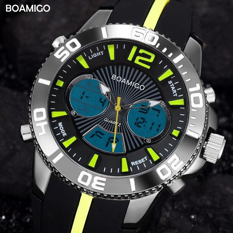 Men Sports Watch Rubber Strap Watches Analog Digital LED Electronic Quartz Watches 30M Water Resistant Wristwatches Reloj Hombre я immersive digital art 2018 02 10t19 30