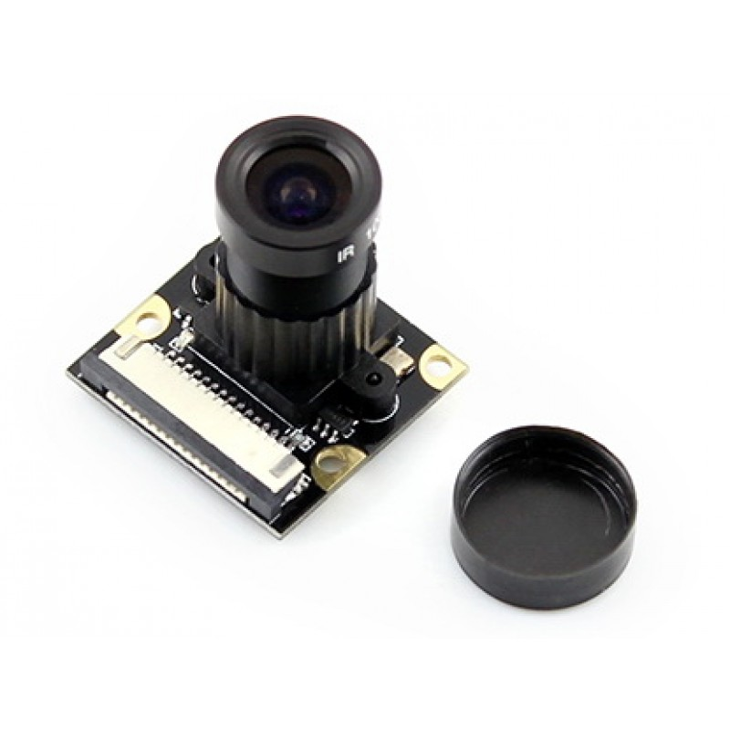 Modules Raspberry Pi Camera F for all Version Model A+/B/B+/2 B/3 B Night Vision Camera Module Kit 1080p 5MP OV5647 Webcam Camer tengying l298n motor driver board for raspberry pi red