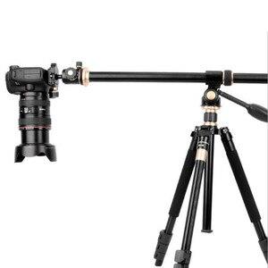 """Image 4 - 61 سنتيمتر/24 """"ترايبود بوم عبر تمديد الذراع الأفقي قضيب منصب الكاميرا للتدوير متعدد زاوية مركز العمود ترايبود أنبوب ملحق"""