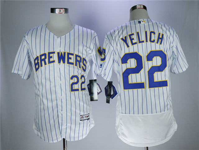 ad8a492a2 MLB High quality Men s Milwaukee Brewers Christian Yelich Baseball Jersey