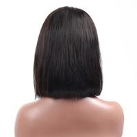каре боб парик короткие синтетические волосы на кружеве натуральные волосы для парики для женщин прямо 613 блондинка натуральный черный синтетические волосы парик на кружеве 13x4 бразильский Реми парик