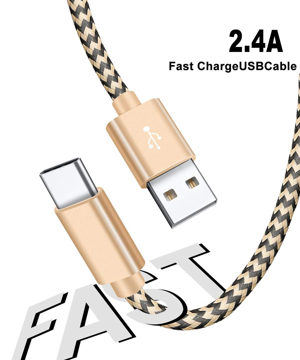 1 Meter Long USB Type C Charging Cable For Huawei P20 pro lite mate 10 Pro