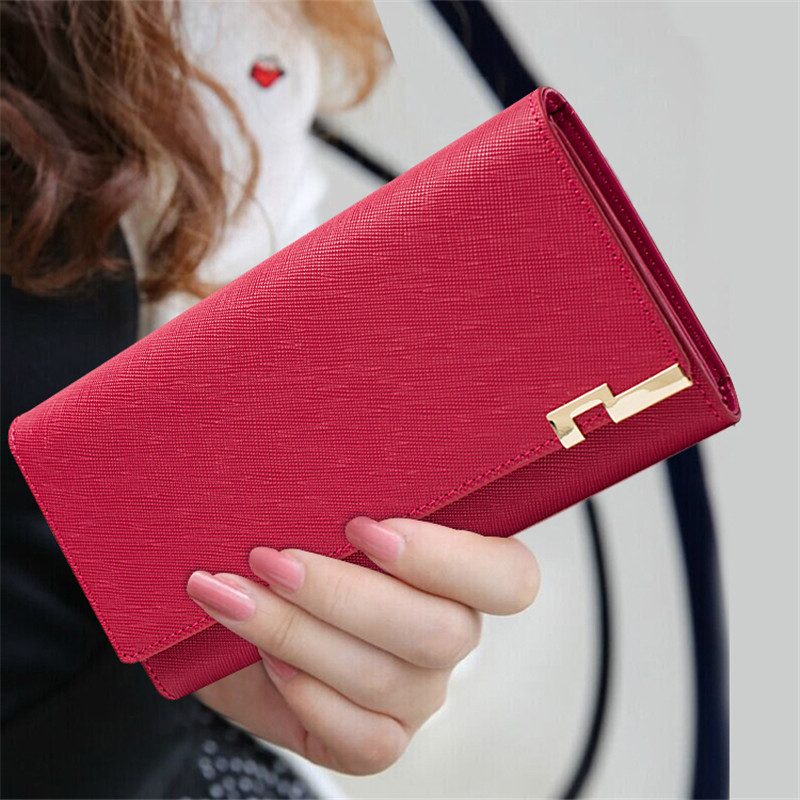 Wallet Women Genuine Leather Long Purses Famous Brand Female Fashion Business Card Holder Ladies Wallets Girl Carteira Feminina