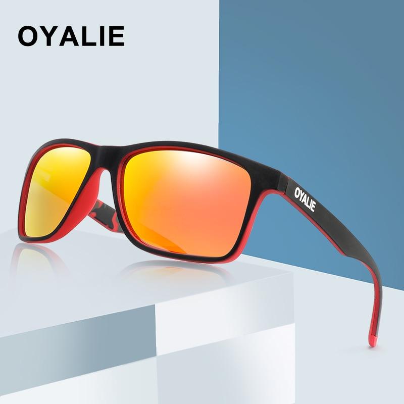 Modestil Oyalie Marke Design Polarisierte Sonnenbrille Uv400 Shades Für Männer Klassischen Quadratischen Fahren Sonnenbrille Vintage Brillen Oculos De Sol Sonnenbrillen Herren-brillen