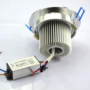 Image 3 - 10W renk AC85V 265V değişimi uzaktan kumanda gömme dolap RGB LED lamba tavan spot DownLight renkli led ışık ev odası için