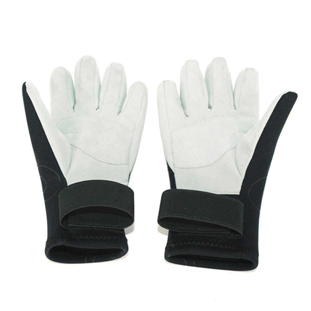 Guantes de buceo Wetsuit guantes cálidos Snorkeling surf kayak guantes con cinco dedos guantes de neopreno de 2 MM