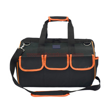 19″(44x22x31cm) Multifunctional Electrical Bag Tools Case Oxford  Bag Electrician Canvas Tool Bag Toolkit