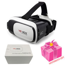 NEW Google cardboard VR BOX II 2.0 Virtual Reality HD 3D Glasses For 3.5-6.0 inch Smartphones add 4.0 Bluetooth game Controller