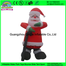 hot selling Christmas advertising inflatables,air blown billboard,Santa Claus inflatable advertising cartoon