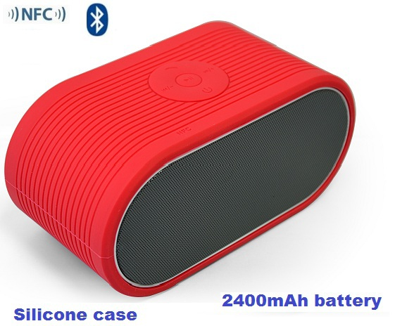 NFC Bluetooth wireless speaker portable HIFI mini loudspeaker mp3 audio player 4200mAh battery - Guangzhou Uiting Electronic Technology Co., Ltd store