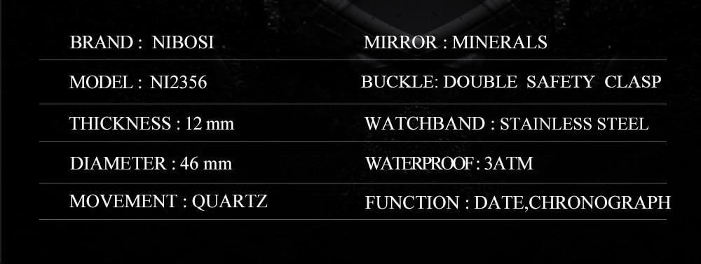 SportArmy Watch For Men Watches 2018 Waterproof Watch Men\`s Wrist Quartz Analog Watch Stainless Steel (6)