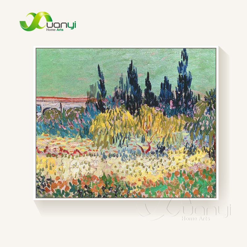 Van gogh landscape paintings reproductions wall - Landscape paintings for living room ...