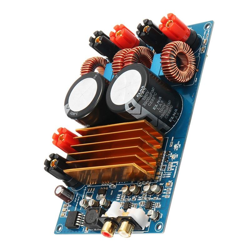 1 PC New Arrival TPA3255 MINI HIFI DE ÁUDIO Classe D Módulo Amplificador Digital Board 300 W + 300 W DC50V