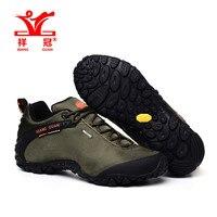 XiangGuan 2016 Oxford Fabric Man Army Green Outdoor Sports Shoes Top Quality Fashion Climbing Sneakers Free