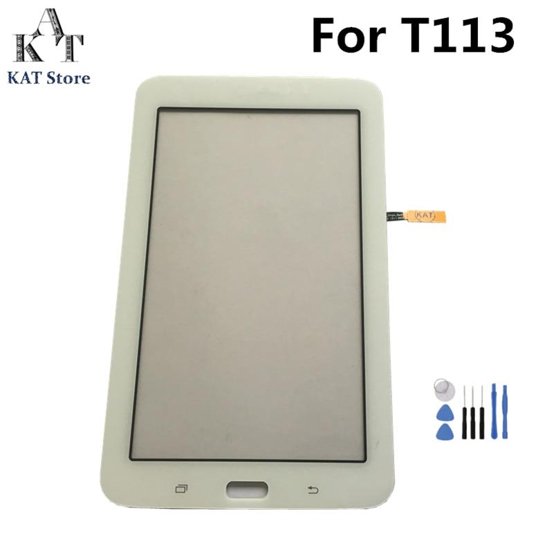 ЖК-экран с дигитайзером для Samsung Galaxy Tab 3 Lite 7,0, сенсорный экран с дигитайзером для Samsung Galaxy Tab 3 Lite, T111, T113, T114, T113NU, T116, сменная часть + Инструменты