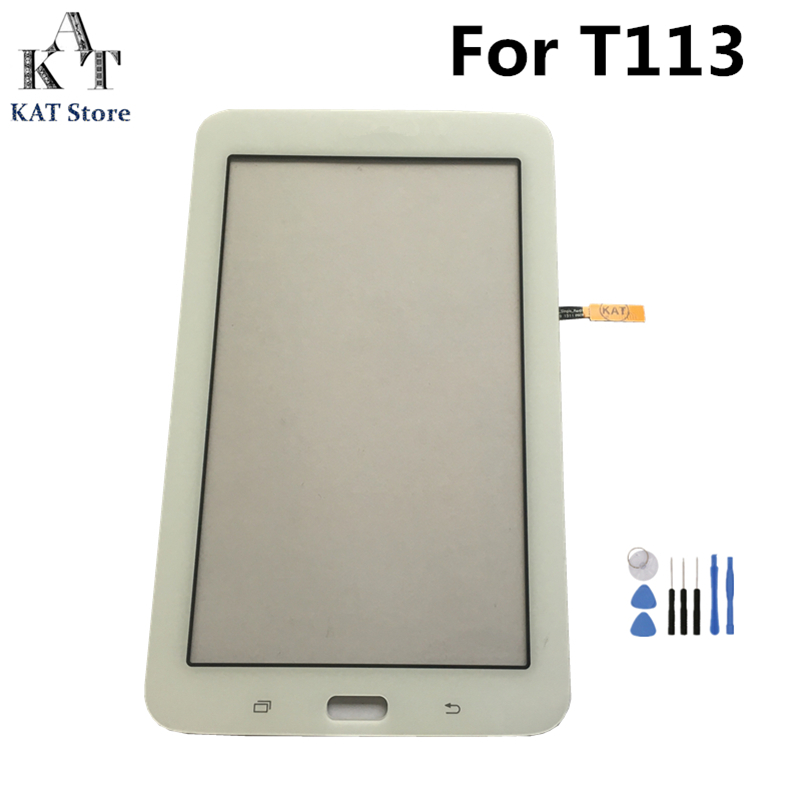 "Adhesive Samsung Galaxy Tab E Lite 7.0/"" SM-T113 Touch Screen Digitizer Glass"